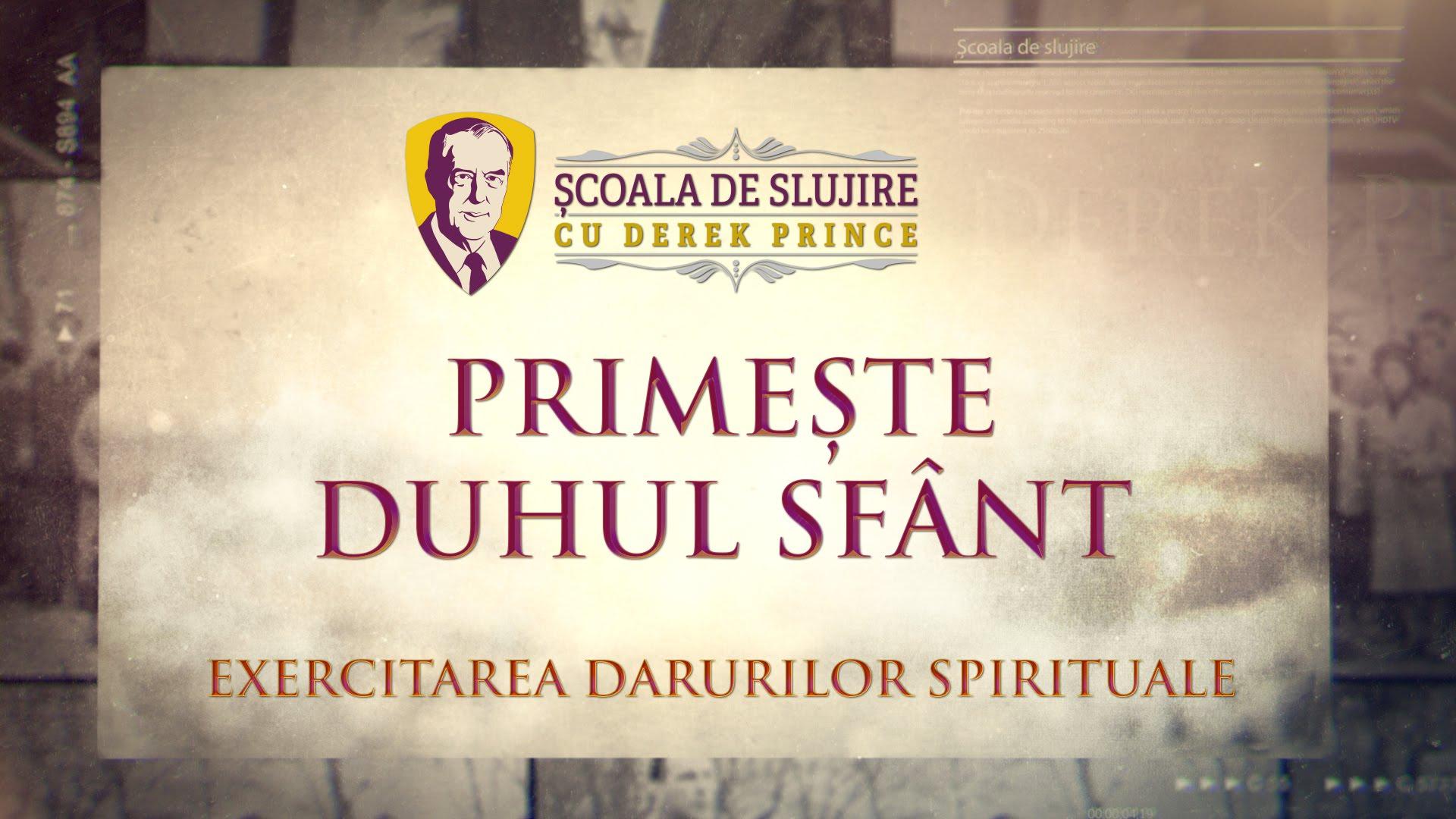 Primește Duhul Sfânt
